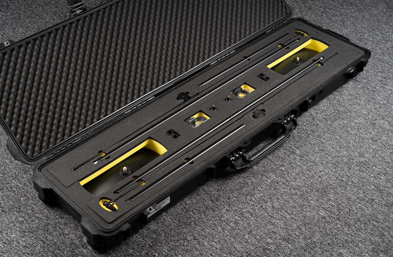 Peli Case with custom foam for 2 sets of DPA 4097