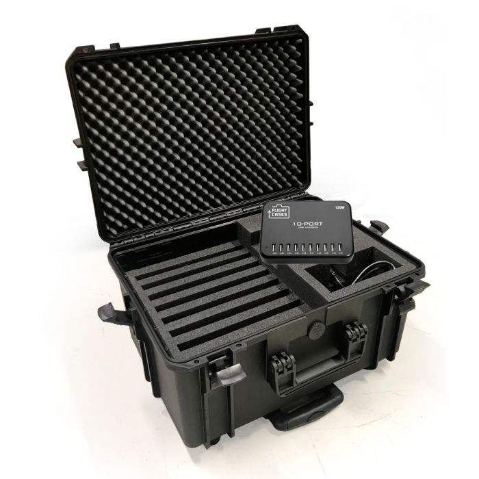 Extreme Charger Case 10 x iPads