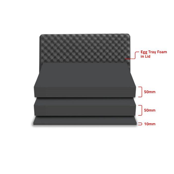Peli 1500MLF Replacement Multilayer Foam Set