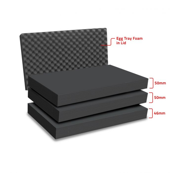 Peli 1510MLF Replacement Multilayer Foam Set