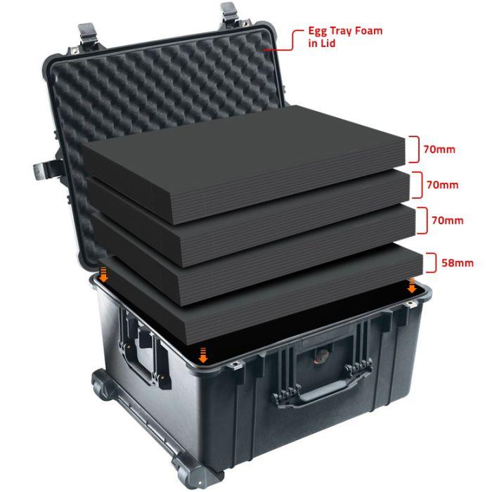 Peli 1620MLF Multilayer Foam