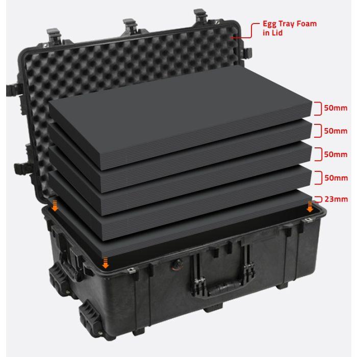 Peli 1650MLF Multilayer Foam