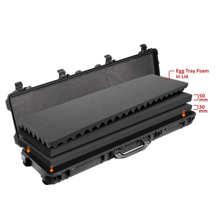 Peli 1750MLF Weapon Case Multilayer Foam