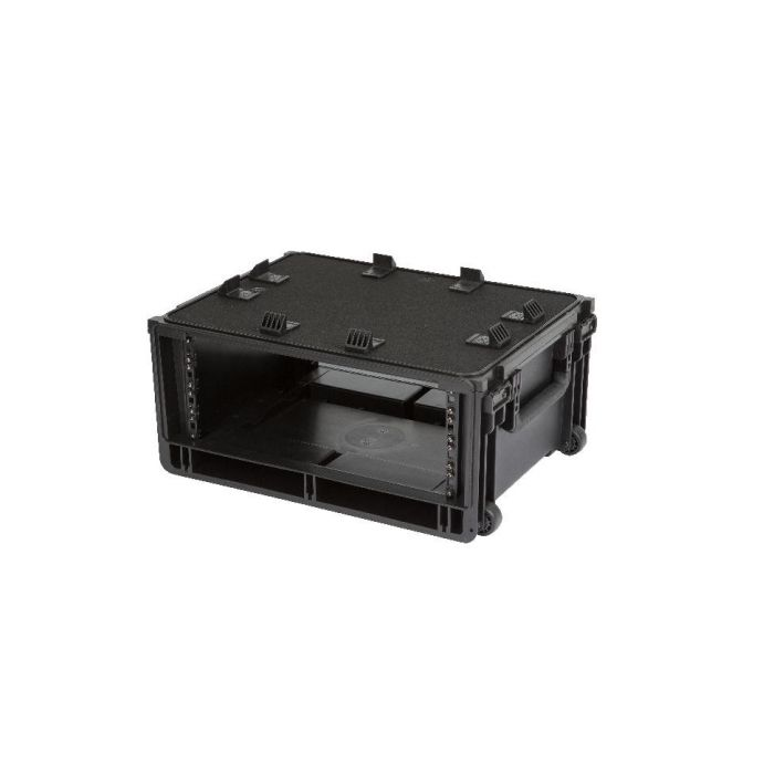 SKB injection mold laptop/4U rack with wheels and pull handle (381 x 483 x 178 mm)