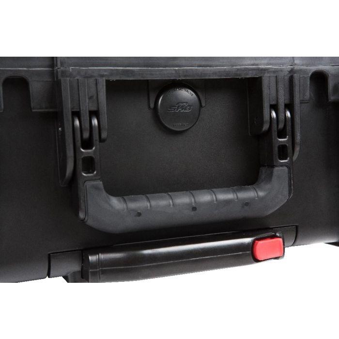 SKB Injection Molded 2u Studio Flyer Rack Case (291 x 483 x 89 mm)