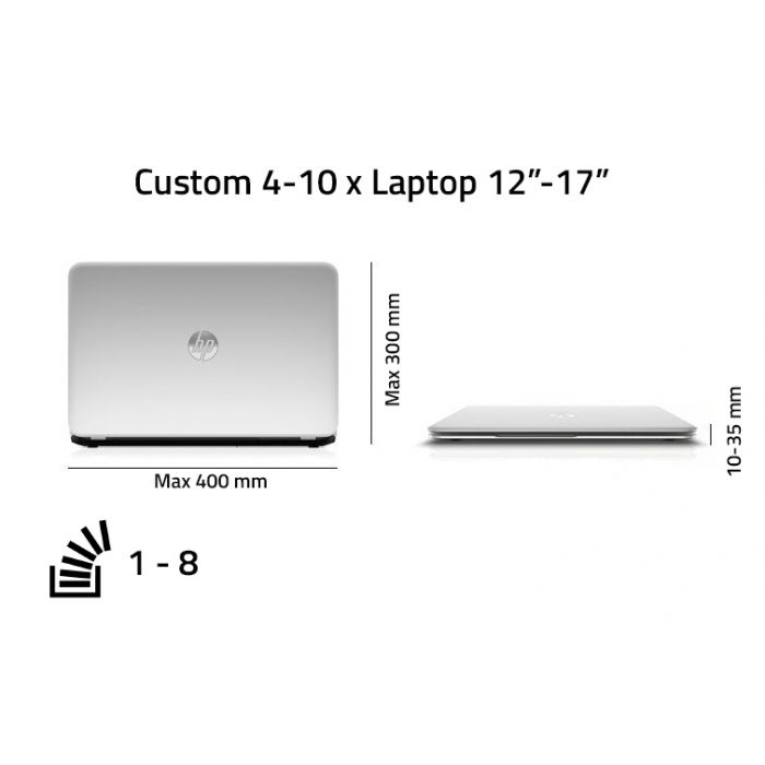Custom 4-10 x Multiple Laptop Case 12
