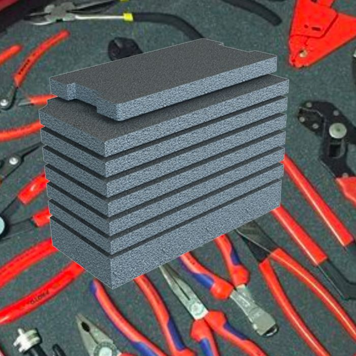 Drawer Tool Case 5140 With Multilayer Foam