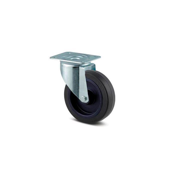 Flightcase hjul 100 mm uden bremse