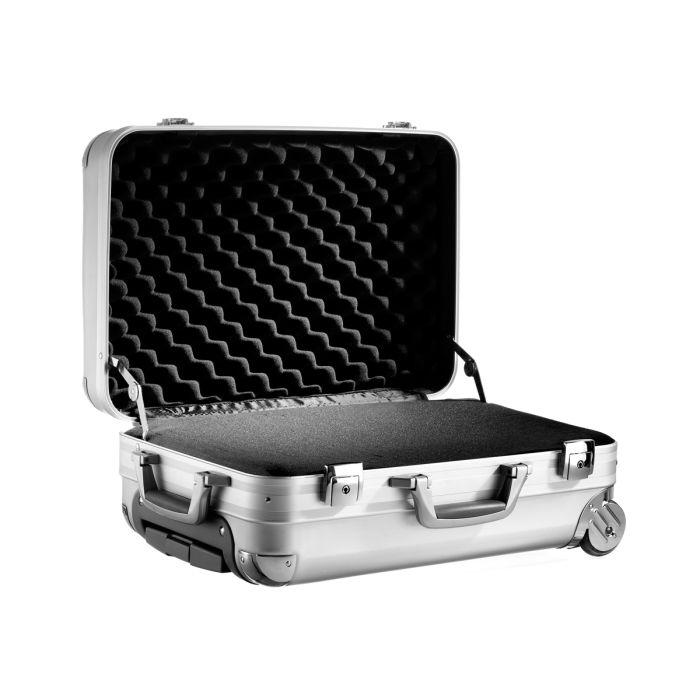 Premium Aluminium Trolley Carry-On with Foam