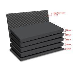 Peli 1650MLF Replacement Multilayer Foam Set