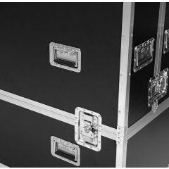 "Phillips 84"" U-Line Display 3-Split Flightcase"
