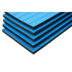Multilayer Foam With Blue Top 800x600x30 mm