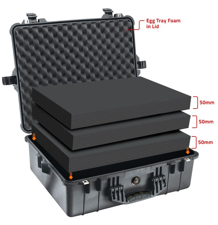 Multilayer Foam - For Protective Cases