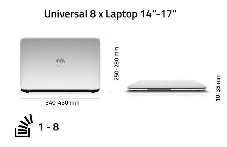 8 x Multiple Laptop Case