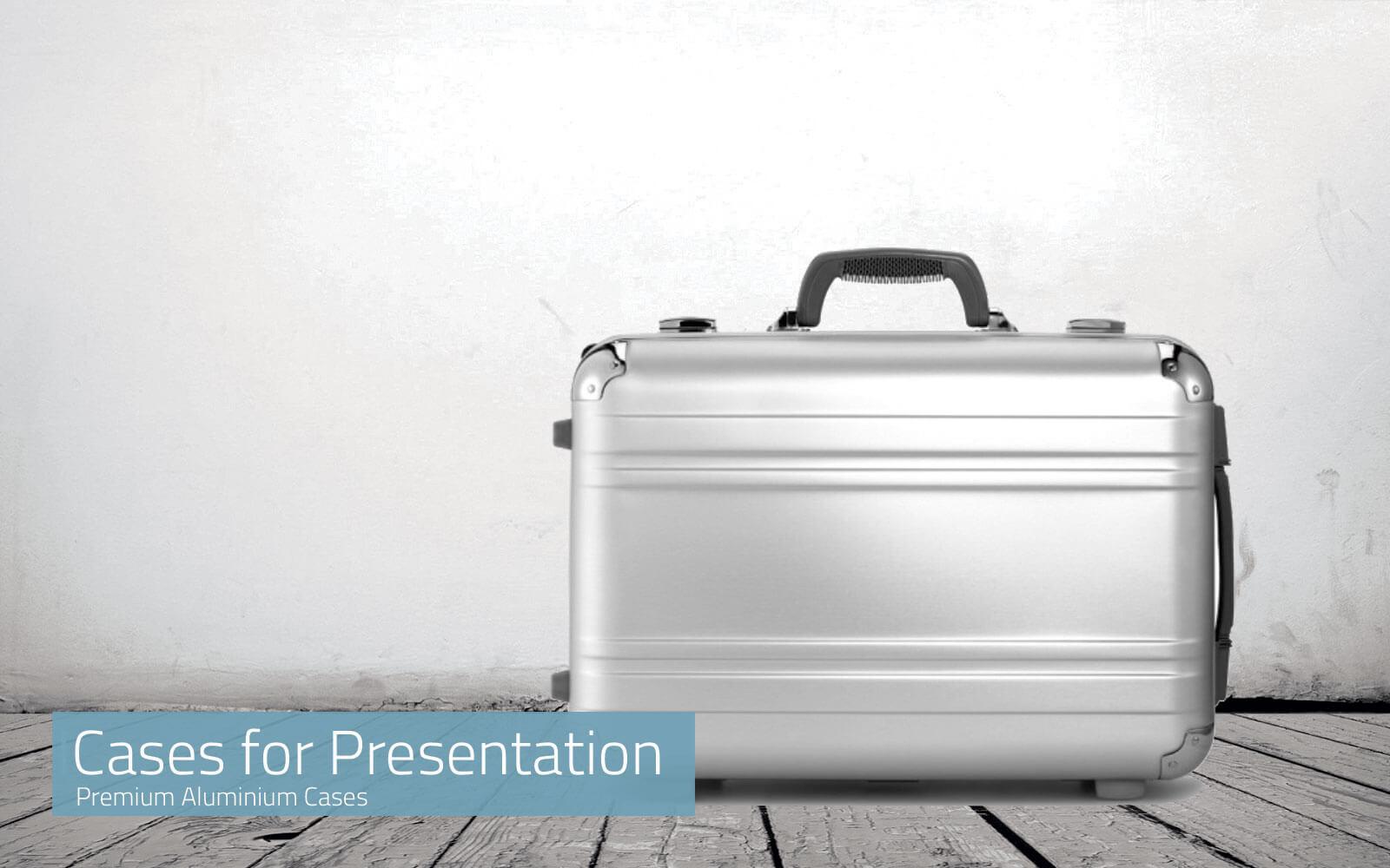 Premium Cases for Presentation