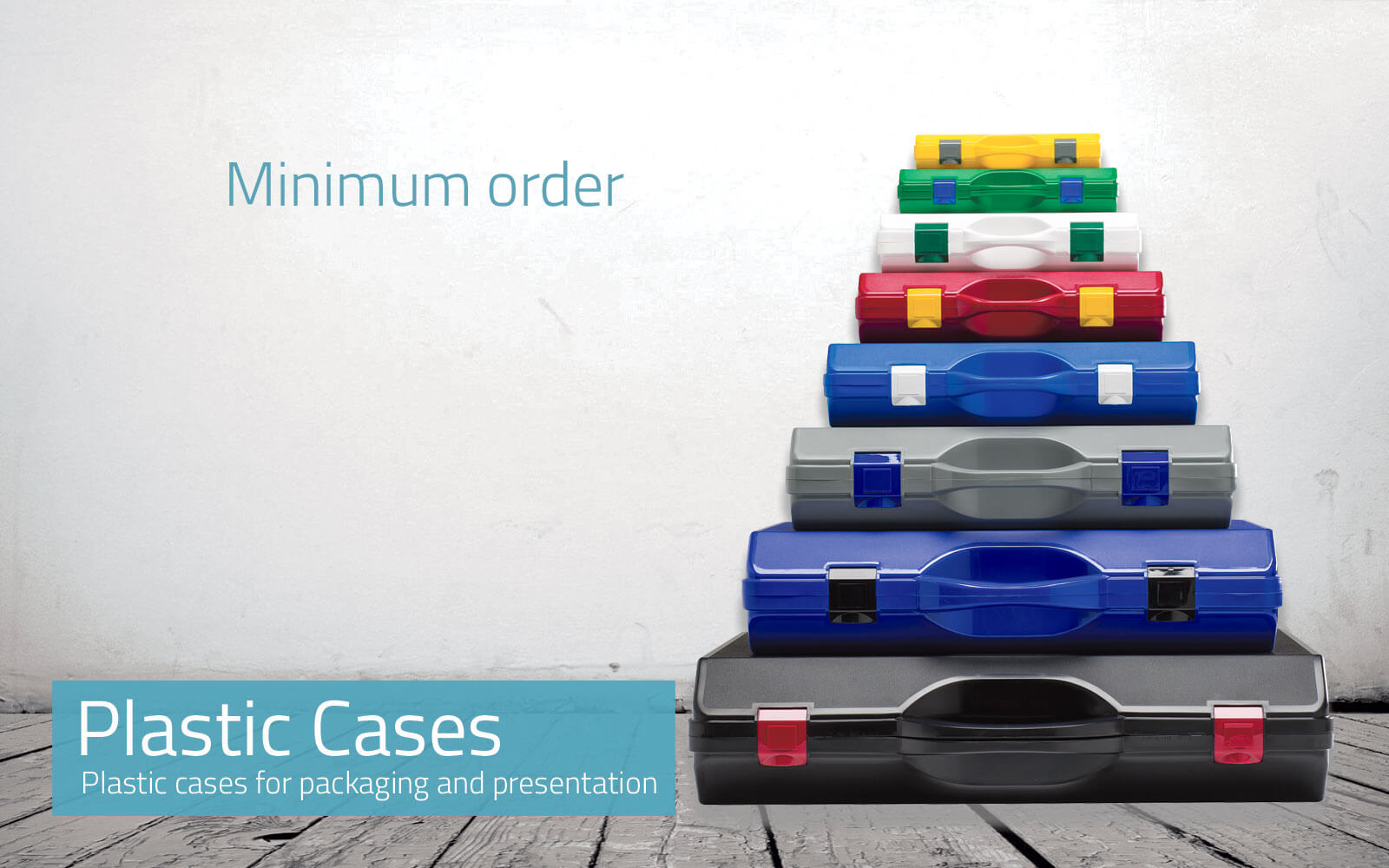 Plastic Cases for Presentation and Packaging