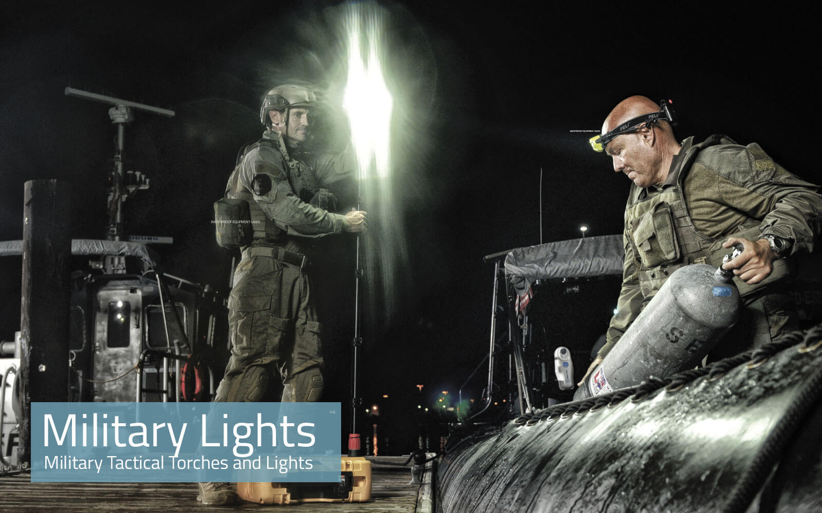 Military Tactical Torches and Lights