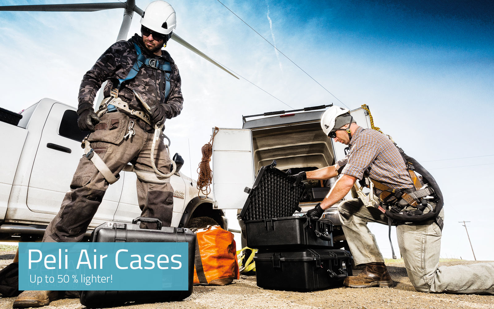 NEW Peli Air Cases