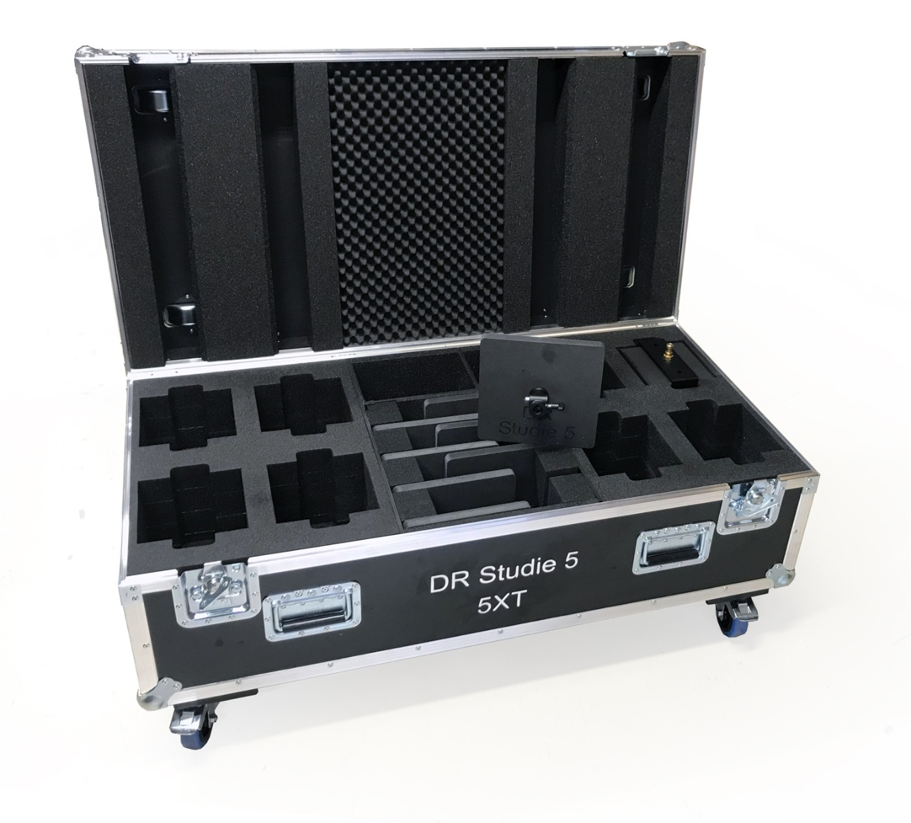 Flightcase for broadcast and rental